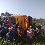 Mvumilivu Bus Involved In An Accident