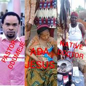 Reactions As Native Doctor Forgave Ada Jesus But A Pastor Swore Not To Forgive Her