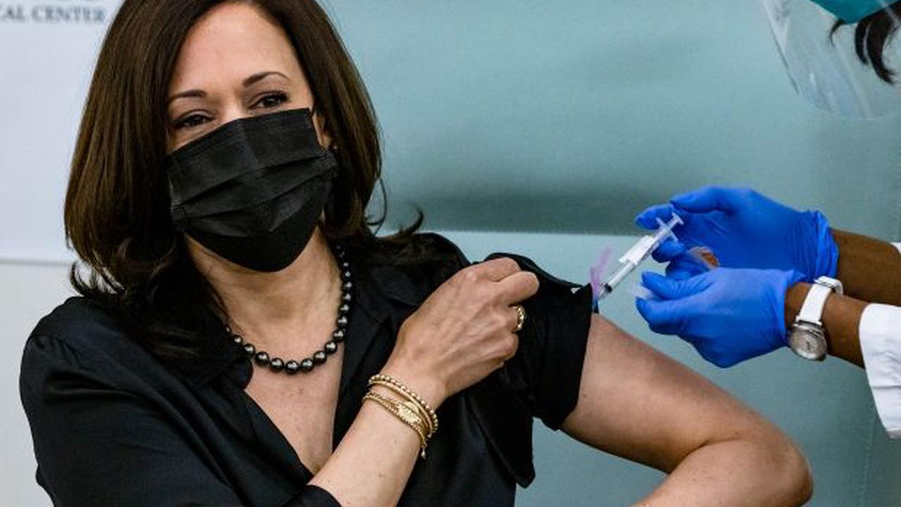 Kamala Harris, husband Doug Emhoff receive COVID-19 vaccine