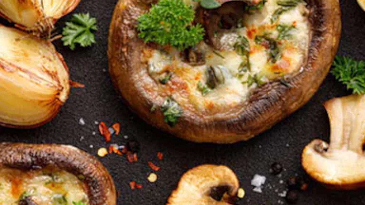 These Stuffed Tandoori Mushrooms Will Make You Want To Drop Everything And Indulge