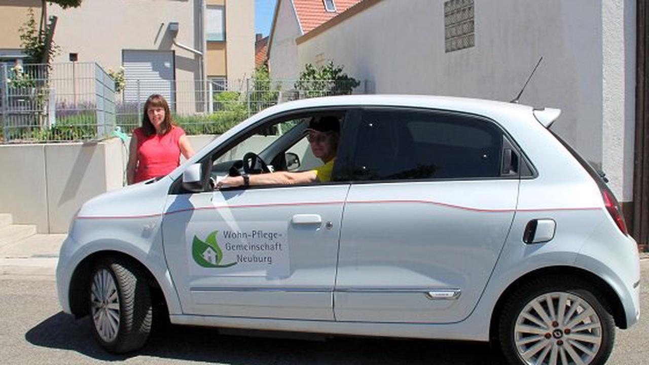 Neuburger Pflege-WG bekommt Elektro-Flitzer