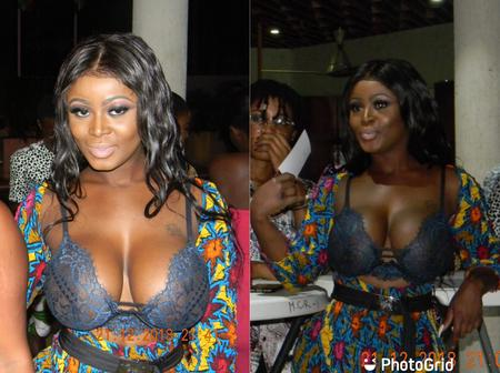 Nina Ricchie Shows Off Her Massive Juicy Boobs At Fame Awards (PHOTOS)