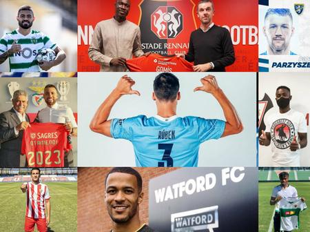 100% Completed Transfers, Here Are All The Latest Done Deal Around Europe As At 1PM Today