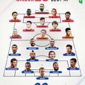 Under 23 Best Xi And Above 33  Best Xi Players For Each Position