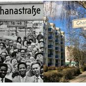Ghana month; Do you know a street is named after Ghana in Berlin.