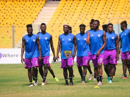 Hearts of Oak Resume Training Without Four Key Players