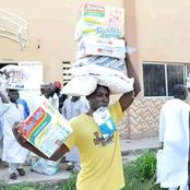 Yobe state governor has distributed food Items to Private School Teachers [Photos]