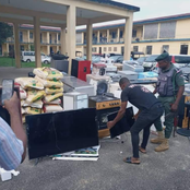 Items Stolen By Hoodlums Has Been Traced And Recovered By The Police See Photos