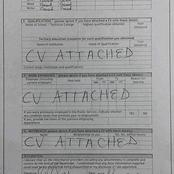 Tips on how to apply for government vacancies and a proper way to fill a Z83 form.