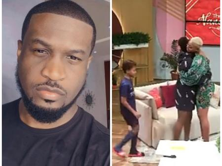 Peter Okoye Shows Off His Son Cameron And Isabel Idibia As They Stun In Nancy Isime Show (Photos)