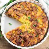 Learn How To Make Tasty Plantain And Egg Frittata At Home