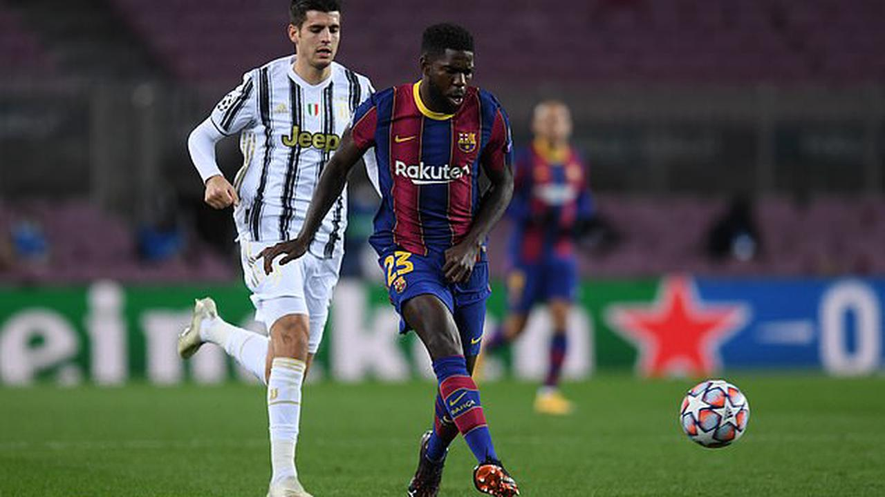 Cash-strapped Barcelona 'looking to sell out-of-favour Samuel Umtiti, Riqui Puig, Junior Firpo and Carles Alena in January' in order to give Ronald Koeman funds to bolster side