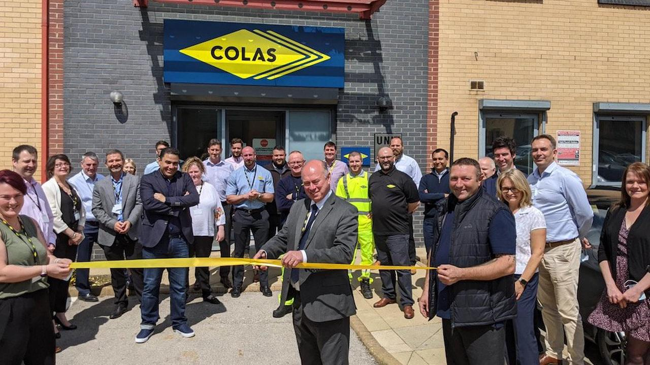 Colas expands with move to Elland Road