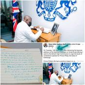 Ghanaians 'Troll' Akufo-Addo For These 2 Reasons After He Signed Prince Philip's Condolence Book