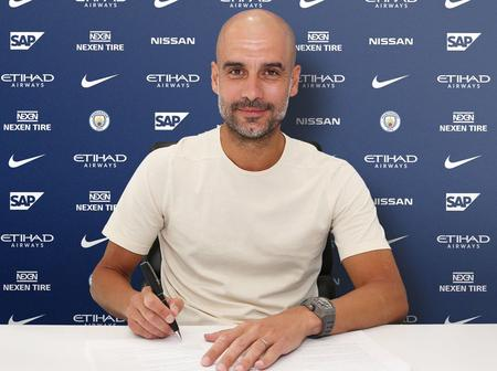 Pep Guardiola: Manchester City manager signs new two-year contract