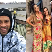 Months After His Release From Prison, Meet Ronaldinho Two Beautiful Wives