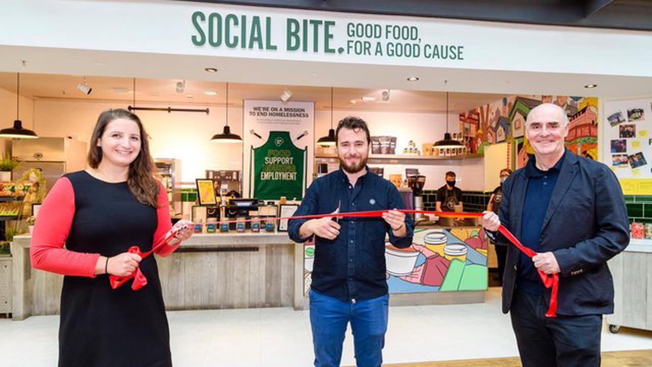Social Bite: New cafe opens in Royal Bank of Scotland's Edinburgh headquarters