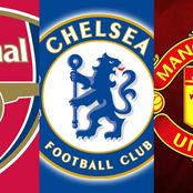 See Where Arsenal, Chelsea & Man United Are Currently On EPL Top Six Table For This Season