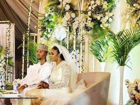 Check Out Beautiful Wedding Photos Of Kaduna State Governor Son and His Beautiful Bride.