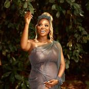Media personality and actress Tomike Adeoye shares baby bump photos and video.