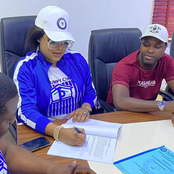 Nollywood actress, Sotayo Gaga Signs Contract With Real Estate Company