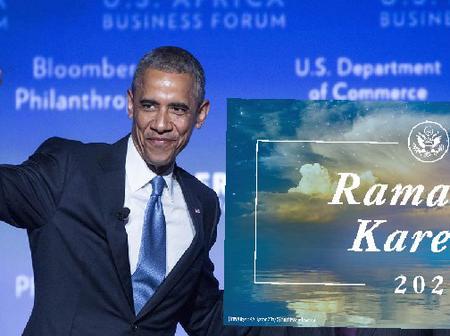 Barack Hussein Obama Among Leaders Globally Wishing Muslims Happy Ramadan