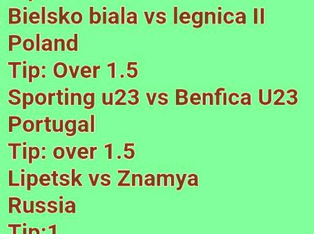 Sure Betslip With GG To Guarantee You A Massive Win This Sunday Late Night