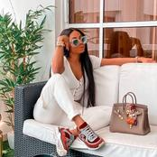 See lovely pictures of Toke Makinwa as she slays like a Goddess
