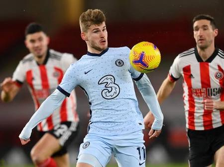 Timo Werner Is The First Player To Do This In Chelsea History After 1-2 Win Against Sheffield United