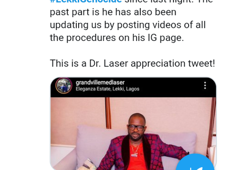 See Reactions On Twitter About A Doctor That Performed Surgery On Some Lekki Victims