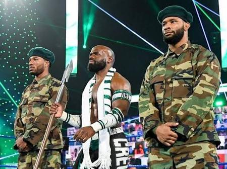 Today Is WWE WrestleMania, Will These 2 Nigerian Superstars Win A World Title Belt Tonight?