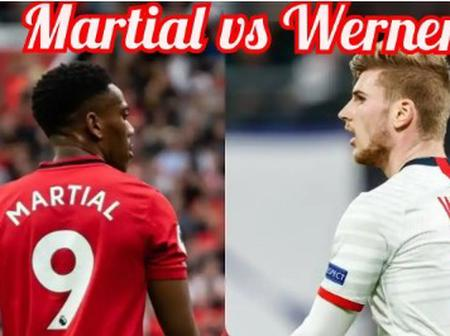 Never Compare Anthony Martial With Timo Werner, See Their Stats Here.