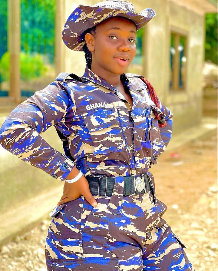 eb64e954cc604eefb81de686114ae046?quality=uhq&resize=720 - 10 Times Ghana's 'Hottest' Police Officer, Ama Dufie Stun Fans With Her Beauty & Curves