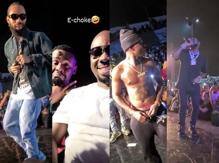 Photos Of Davido, Phyno, Zubby Michael, Obi Cubana & Others In Onitsha Yesterday Night Having Fun
