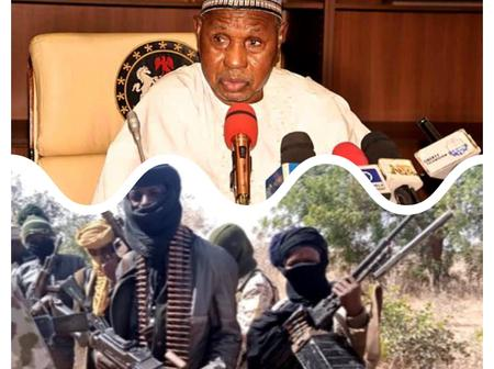 Masari Breaks Silence On Why Kidnapping Is On The Increase In Nigeria, Read What He Said