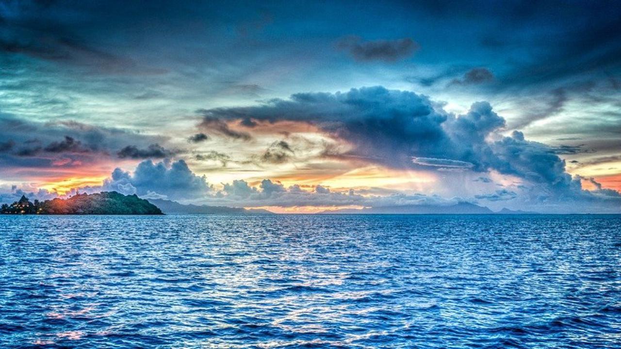 Polynésie : il tombe d'un cargo et survit 16h en pleine mer