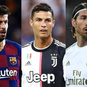 Five top defenders who praised Cristiano Ronaldo.