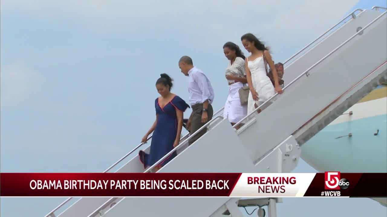 Delta forces Obama to 'significantly scale back' Vineyard 60th birthday bash