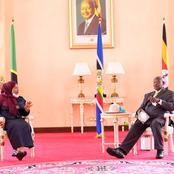 Update: President Samia Suluhu Meets Museveni