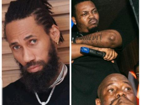 Olamide Baddo shares New Picture, See Phyno's Reaction