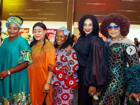 Patience Ozokwor Shares New Adorable Photos With Legendary Nigerian Movie Actresses