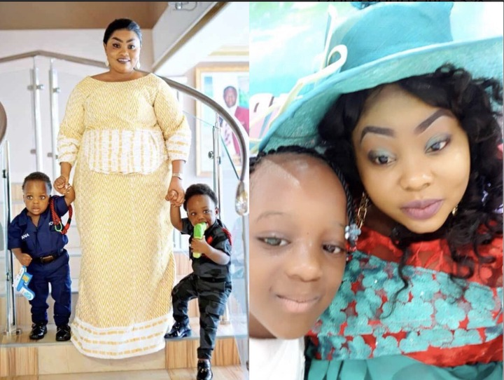 eb8bc015f2ae282d571f9a428238f432?quality=uhq&resize=720 - Have A Look At Osofo Kyiri Abosom's Lovely Wife, His Twin Sons And His Beautiful Daughter (Photos)