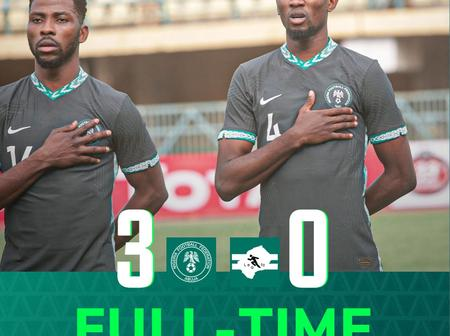 Nigeria 3 - 0 Lesotho - Match Rating For The Super Eagles