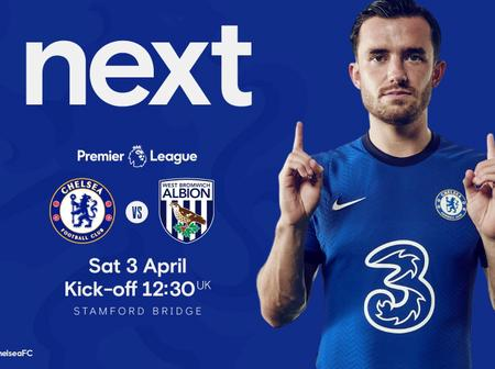 EPL: Huge Boost For Chelsea Ahead Of West Brom Match Tomorrow