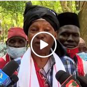 Raila Dealt a Huge Blow as a Section of Kaya Elders Does This(Video)