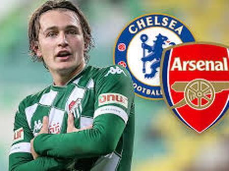 Arsenal and Chelsea Lining up Move For Bursaspor Attacker
