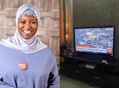 Aisha Yesufu reacts after news reports of Americans waiting 5 hours to get Covid-19 vaccination