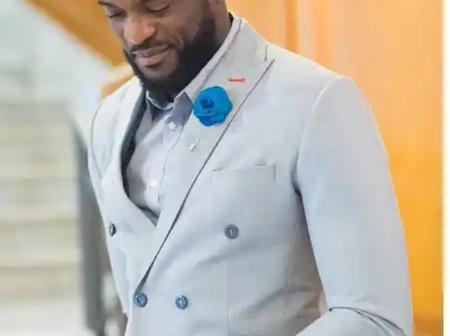 Cute Pictures of Kenneth Okolie in Suits