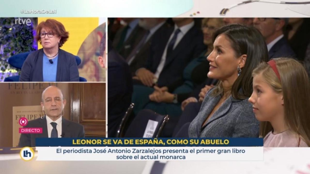 RTVE refers to what Rosa María Mateo said to apologize for the label on Princess Leonor