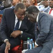 Expectations As Uhuru And Raila Hold A Crisis Meeting In State House